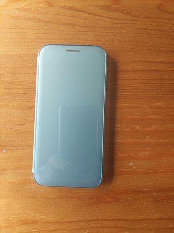 Capa Samsung Galaxy A5 2017 Clear View Azul em segunda mao