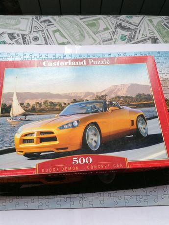 Пазлы касторленд, Castorland puzzle 500 деталей