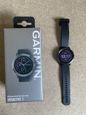 Smartwatch zegarek Garmin Vivoactive 3 Szary,Grafit, jak nowy! Bielsko
