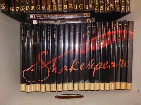 komplet 21 sztuk Shakespeare'a na dvd