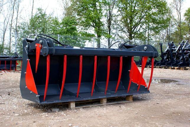 Łycho-krokodyl łyżko 1.4 m zęby kute na ładowacz czołowy TUR euroramka