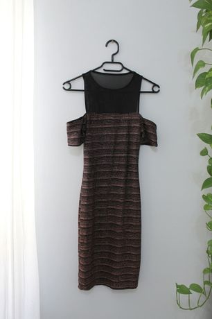 Obcisła sukienka Andrzejki Sylwester New Look rozmiar 34