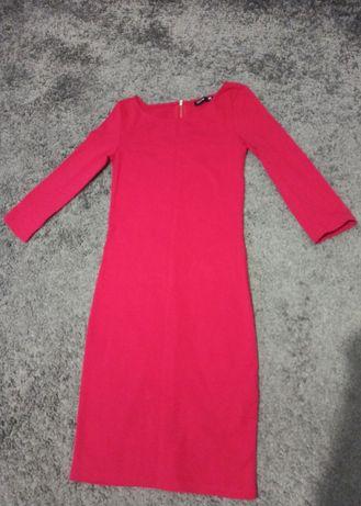 Piękna Czerwona sukienka sinsay xs