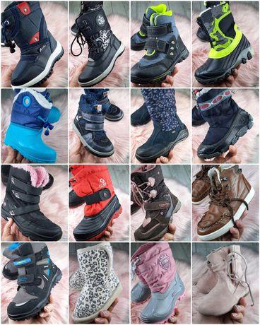 Детские ботинки, сноубутсы, сапоги, ботильйоны, хайтопы, сапожки,
