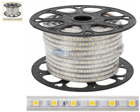 Fita LED 220v BRANCO FRIO Consumo: A++
