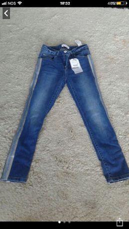 Calças Zara 13/14 anos com etiqueta