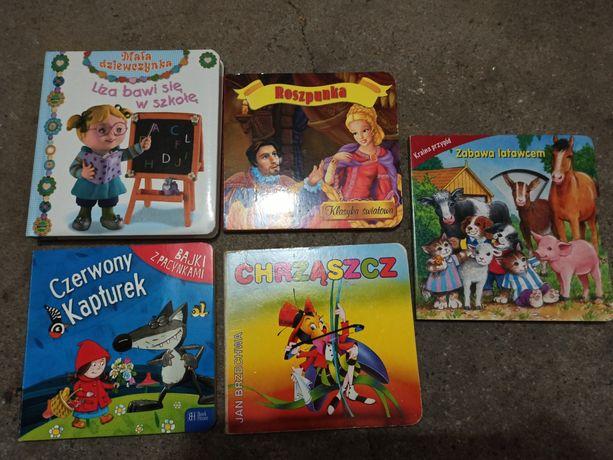 Książki książeczki dla dzieci czerwony kapturek roszpunka
