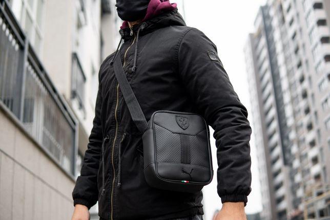 Сумка мужская через плечо мессенджер Puma Formula барсетка планшетник