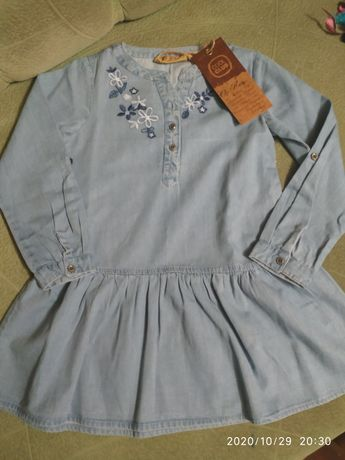 Рубашка - туника для девочки
