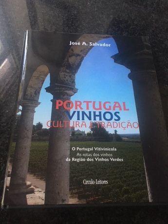 livro vinhos - vinhos verdes - circulo de leitores