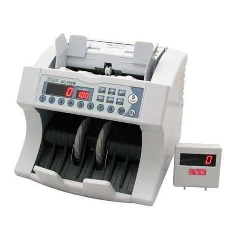 Liczarka do banknotów z prezentacją u klienta Selectic XC-155W