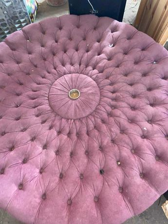 Sofa redondo camurça
