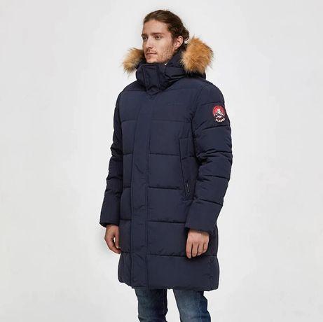 Мужская зимняя куртка, пуховик, парка TIGER FORCE