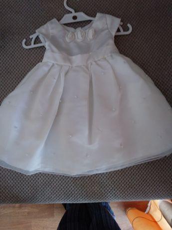 Ubranko do chrztu dla dziewczynki z bucikami