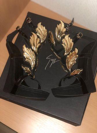 Джузеппе Занотти орігінал летние туфлі р 37 ультрамодние торжественние