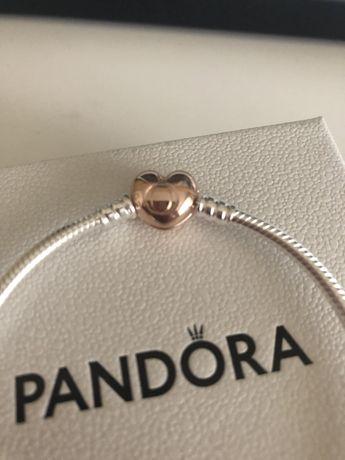 Bransoletka Pandora zapiecie Rose