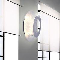 Kinkiet NEVIS LED srebrny Paul Neuhaus 9011-21 lampa ścienna sufitowa