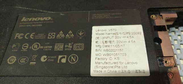 Lenovo IdeaPad V570 - разбор