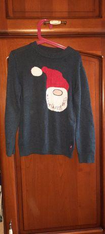 Coccodrillo r.128 sweterek świąteczny