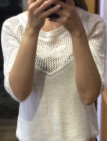 Белый свитерок