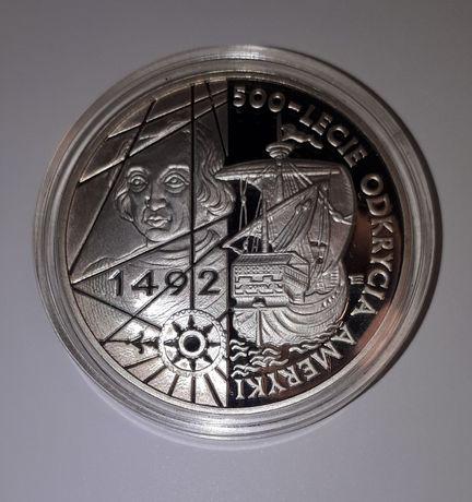 200000zł 500-lecie odkrycia ameryki 1992 srebro