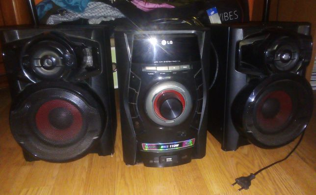 Sprzedam wieżę stereo LG