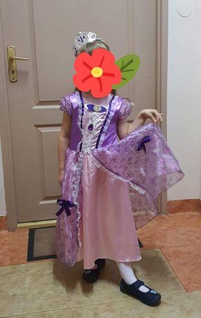 Sukienka suknia księżniczka zosia jej wysokość zosia strój kostium