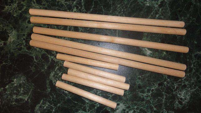 Деревянные круглые палочки