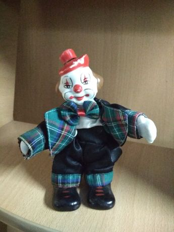 Сувенирная кукла Клоун