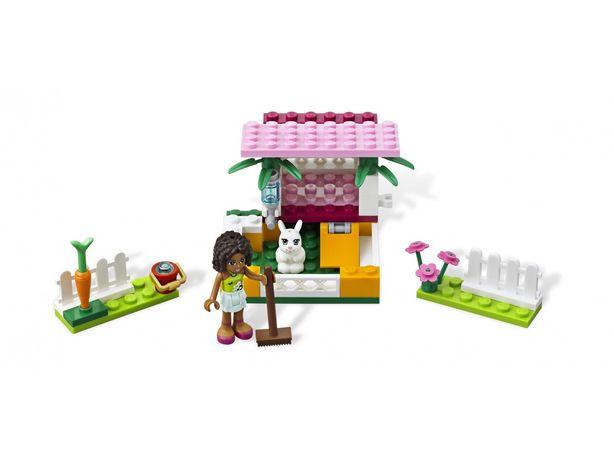 LEGO 3938 Friends Andrea z królikiem domek królika