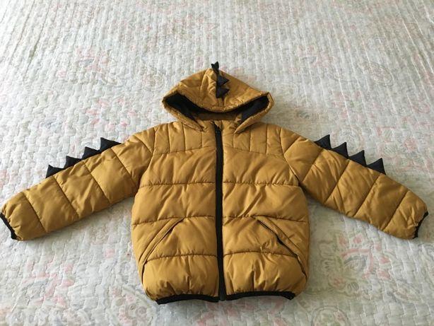 Теплая куртка динозавр George Джордж р.98-104 Next, Lupilu, GAP,Reima