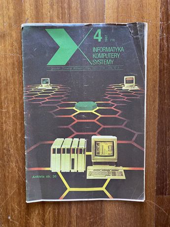 IKS nr 4/1987 Informatyka Komputery Systemy