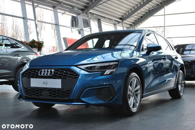 Audi A3 Sportback 35 TFSI 150 KM S tronic 2021 NOWY dostępny od ręki