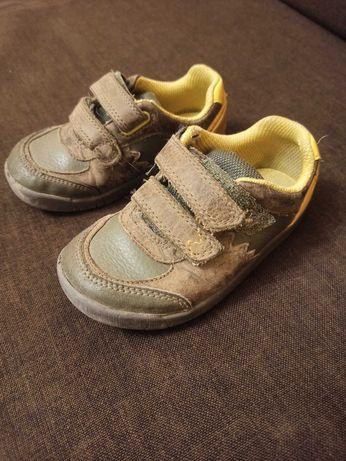 Buty Clarks, półbuty skórzane, dla chłopca, rozm 25