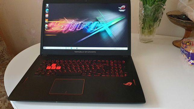 ASUS ROG STRIX GL702VM i7-7700HQ 16Gb GTX1060 6Gb SSD256Gb