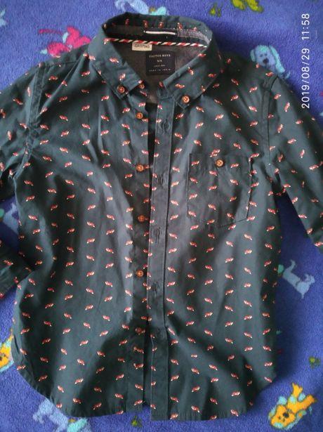 Сорочка рубашка 5 - 6 років лет cactus boy садик садок садік сад школа