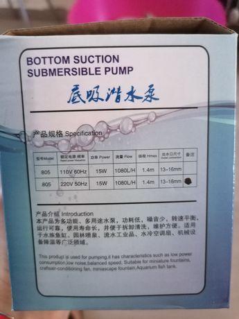Bomba extração água