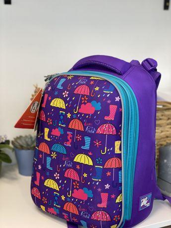 Рюкзак Yes  H-12 Umbrellas, для девочек, синий (556044)