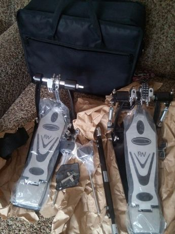 Дабл бит двойная педаль кардан полный комплект новый