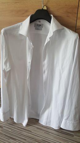 Nowa koszula Biała styl włoski rozm.42 PaWO