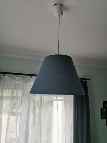 Lampy Ikea granatowe