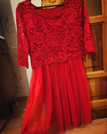 Продам красивое платье одето один раз на свадьбу