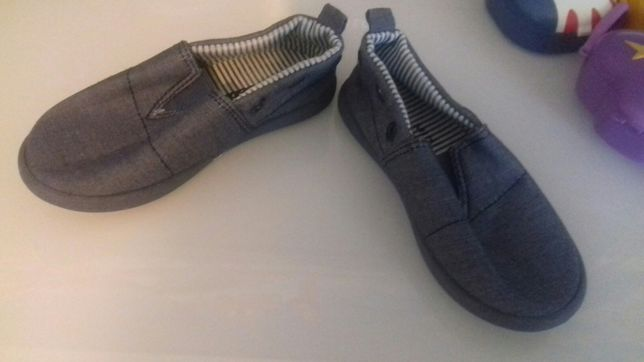 Sapato criança lona 22