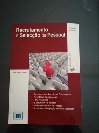 Livro Recrutamento e Selecção de Pessoal