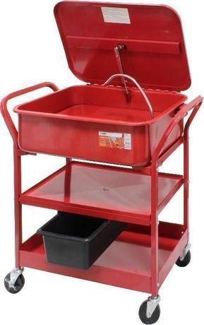 Máquina de Lavar Peças - MADER® - 60L - suporte com rodas