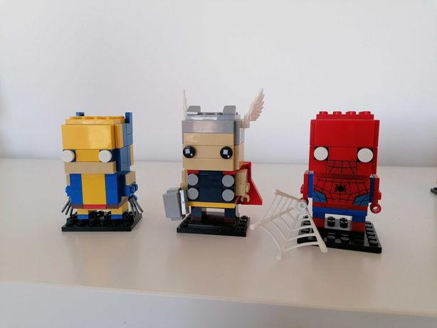 Lego Brickheadz - Marvel e DC