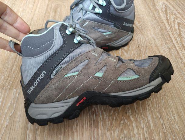 Термо Ботинки Salomon gore-tex мембранные ботинки 38 (23,5 см)