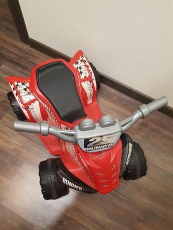 Quad motor skuter dla dzieci RUNNER stan d.bobry