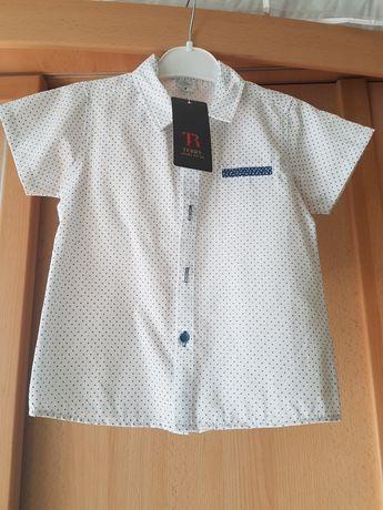 Komplet koszula spodnie 98-104