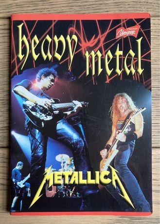 Тетрадь Metallica - раритет!